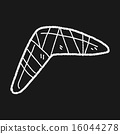 boomerang doodle 16044278