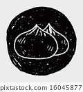 chinese Bun doodle 16045877
