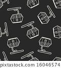 Cable Car doodle 16046574