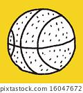 Doodle Basketball 16047672