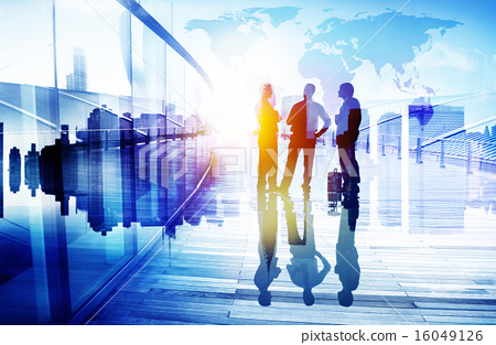 Stock Photo: Business People Communication Connection Group Concept