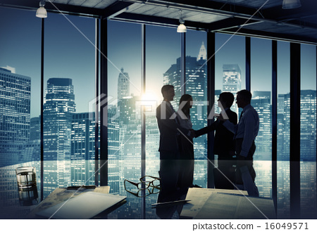 Stock Photo: Business People Corporate Discussion Meeting Team Concept