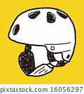 skate helmet doodle 16056297
