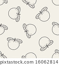 vector, seamless, doodle 16062814