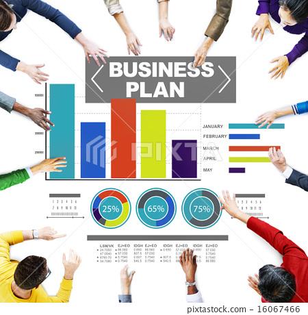 business plan graph brainstorming strategy idea info concept 16067466
