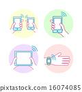 nfc, concept, technology 16074085
