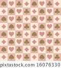 背景 玩牌 矢量 16076330