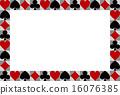 玩牌 相框 矢量 16076385