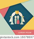 wedding, ceremony, flat 16078697