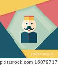 vector, bellhop, icon 16079717