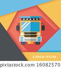 校車 公共汽車 巴士 16082570