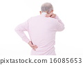 grandfather, lower back pain, backache 16085653