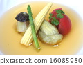 consomme soup, chervil, french parsley 16085980
