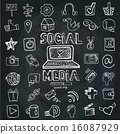 图标 社交媒体 媒体 16087929