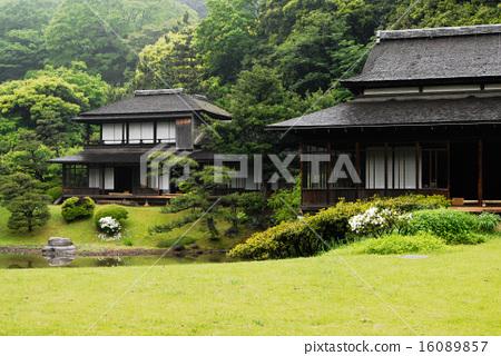 산케이엔, 일본 건축, 일본 건물 16089857