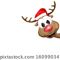 Christmas Reindeer Cartoon 16099034