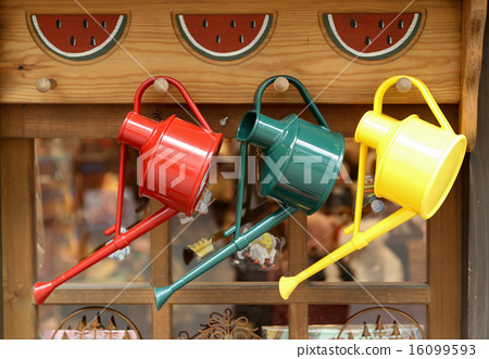Colorful watering cans 16099593