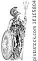Athena Greek Goddess 16105804