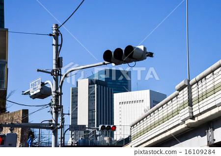 Shibuya 4-chome road sign 16109284