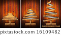 Extensible Wooden Christmas Trees 16109482