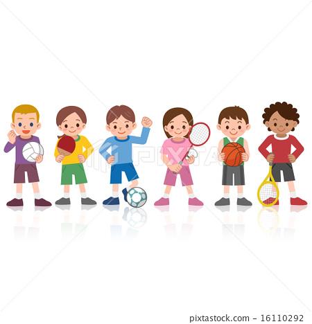 孩子們在玩運動 16110292