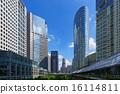 시나가와 인터 시티와 시나가와 그랜드 코 몬즈의 고층 빌딩 군 16114811