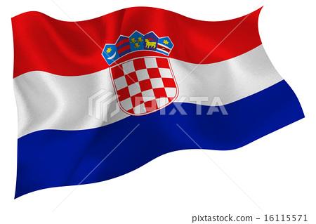 克羅地亞國旗 16115571