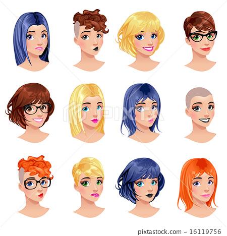 Fashion female avatars 16119756