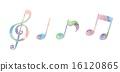 筆記 音符 插圖 16120865