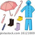 雨衣 矢量 初夏 16121669
