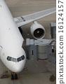 登机桥 飞机 马车 16124157