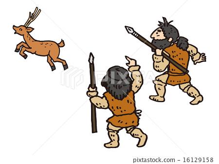 狩_벡터,사냥,수렵-스톡일러스트[16129158]-PIXTA