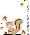 插圖 插畫 松鼠 16129297