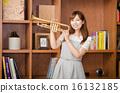 喇叭 手風琴 器具 16132185