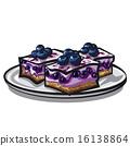 blueberry cake 16138864
