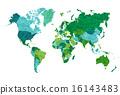 地圖 世界地圖 版圖 16143483