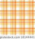 格子橙色 16144441