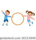 훌라후프를하는 아이들 16153646