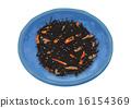 配菜 小碗 深色可食用海苔 16154369