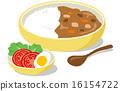 午餐 午飯 咖哩飯 16154722