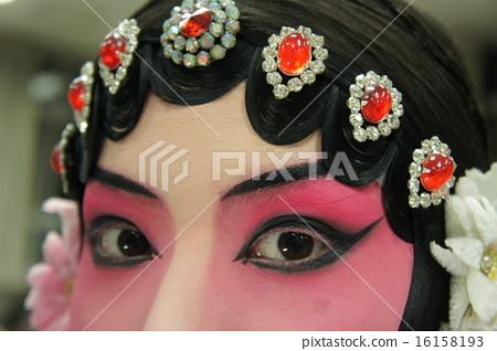 Peking Opera Makeup (eye) 16158193