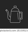 kettle line icon 16159023