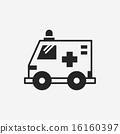 ambulance icon 16160397