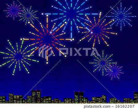 Fireworks display 16162207