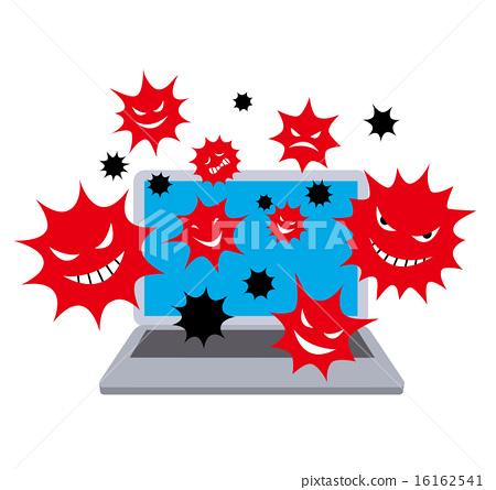 計算機病毒顏色 16162541