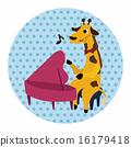 音樂 動物 向量 16179418