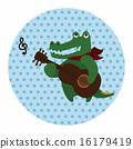 音樂 動物 鱷魚 16179419
