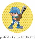 击球手 男性 男人 16182913