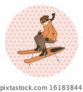 ski, skier, skiing 16183844