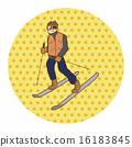 滑雪 滑雪者 冬 16183845